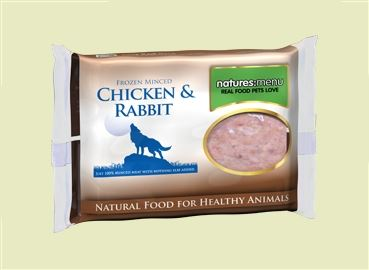 CHICKEN & RABBIT MINCE 400G : pack of 12