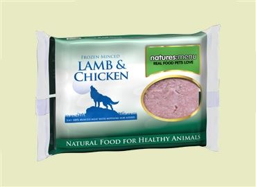 LAMB & CHICKEN MINCE 400G : pack of 12