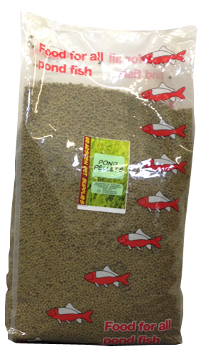 BEARSDEN POND PELLETS 10KG