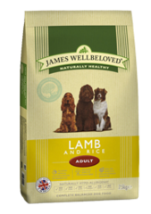 James Wellbeloved LAMB & RICE 15KG
