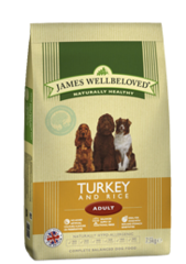 James Wellbeloved TURKEY & RICE 15KG