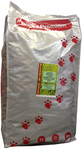 SUPER PREMIUM LARGE BREED ADULT CHICKEN & RICE 15 KG